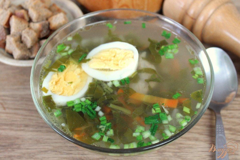 Зеленый борщ пошаговый рецепт с фото