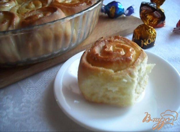 фото рецепта: Апельсиновые булочки
