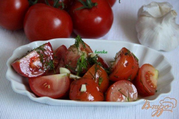 фото рецепта: Маринованные помидорки (холодный способ)