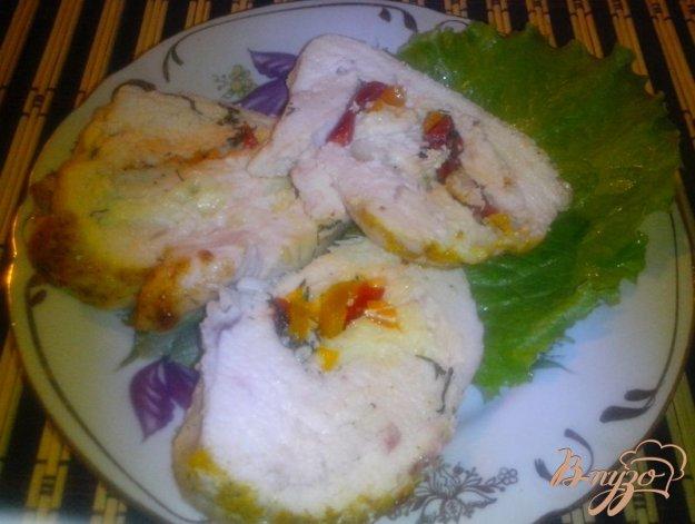 фото рецепта: Фаршированные куриные грудки
