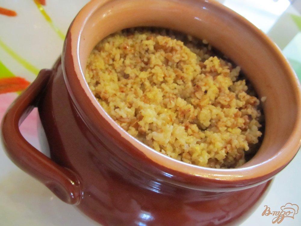 Гречневая каша в духовке пошаговый рецепт с