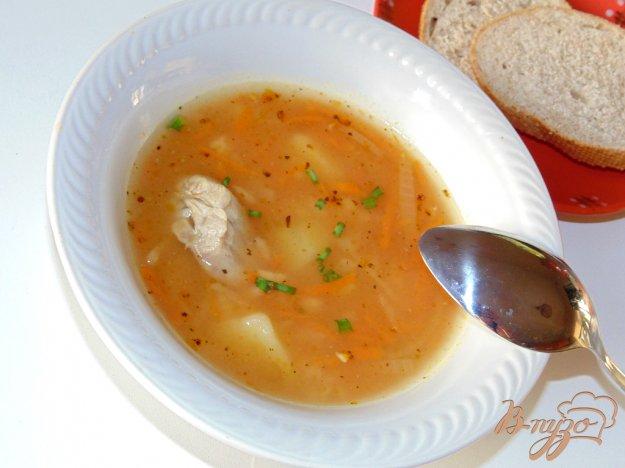 фото рецепта: Рисовый суп с томатной заправкой