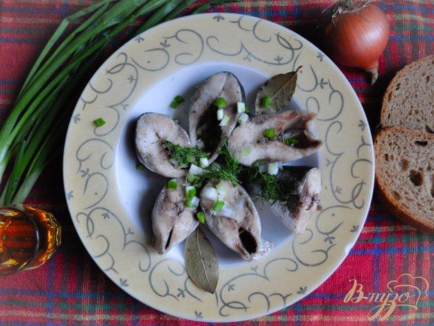 фото рецепта: Вареная дунайская сельдь