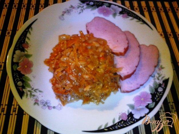 фото рецепта: Солянка с капустой и рисом постная
