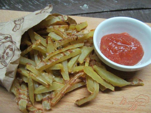 фото рецепта: Картофель фри без масла