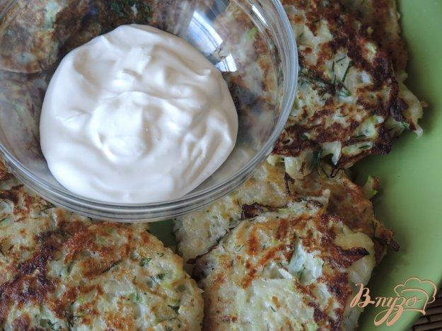 фото рецепта: Драники из кабачков и картофеля