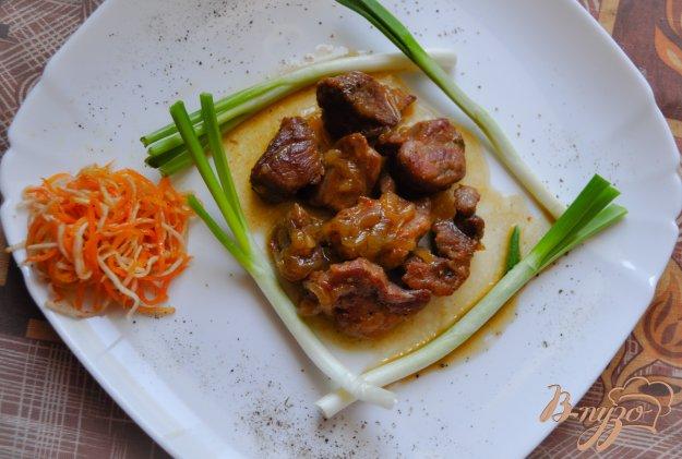 фото рецепта: Свинина в медовом соусе