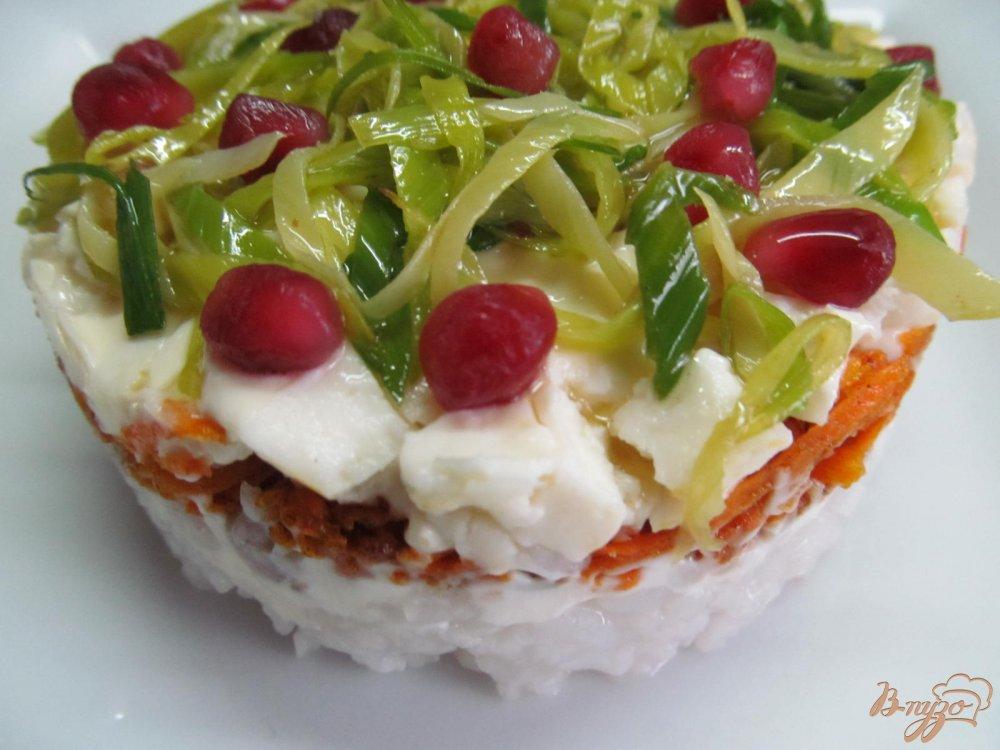 рецепт японского салата с мясом