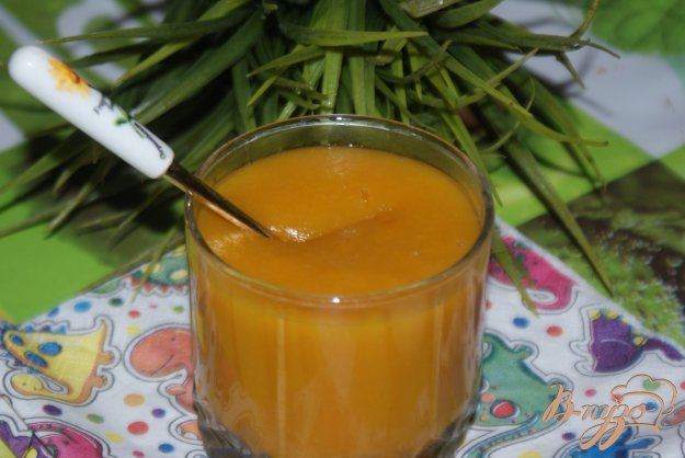 фото рецепта: Тыквенно-яблочный кисель