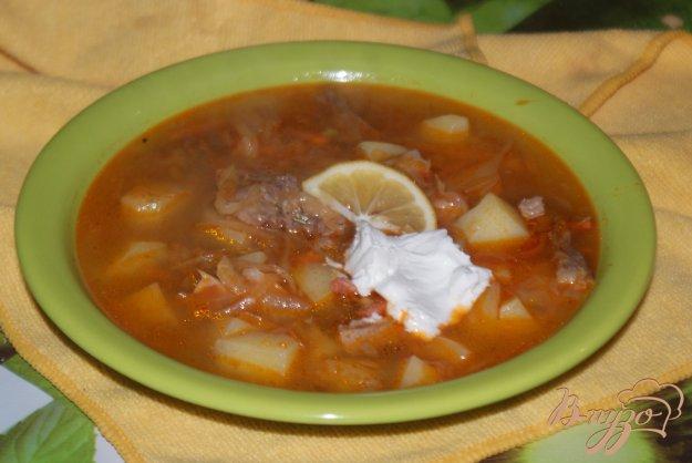 фото рецепта: Мясная солянка с квашеной капустой