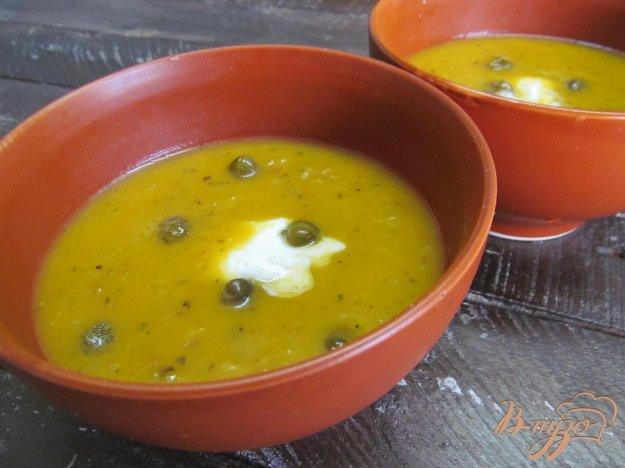 фото рецепта: Суп-пюре из тыквы и квашенной капусты