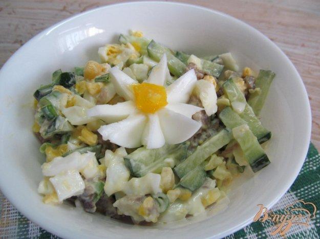 Салат из говядины с яйцом
