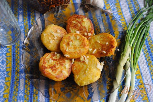 фото рецепта: Картофельные лежни с чесноком