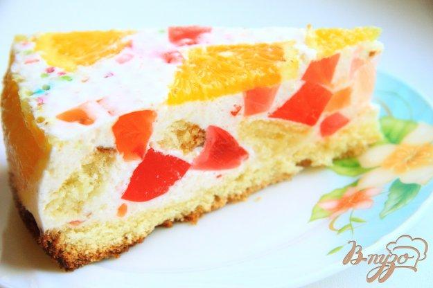 Творожные торт битое стекло