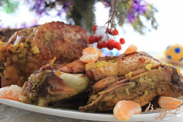 фото рецепта: Индейка в бульоне