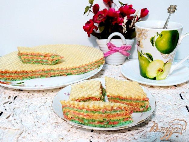 фото рецепта: Андруты (вафельный тортик)
