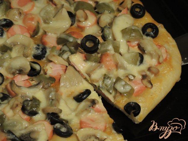 фото рецепта: Пицца-солянка