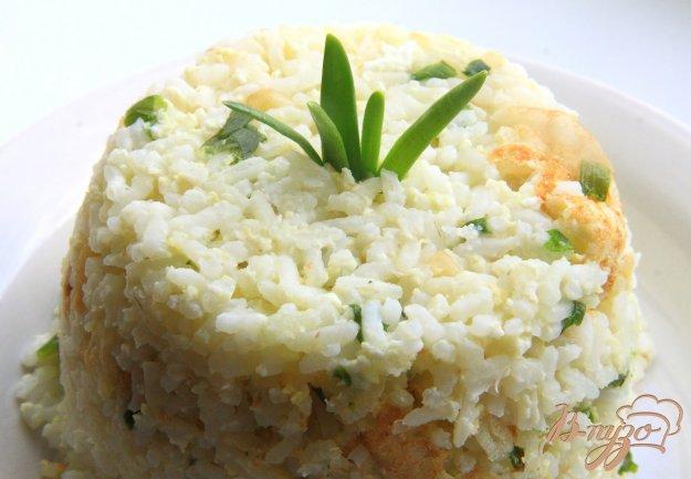 фото рецепта: Рис с чесноком и яйцами  по-японски