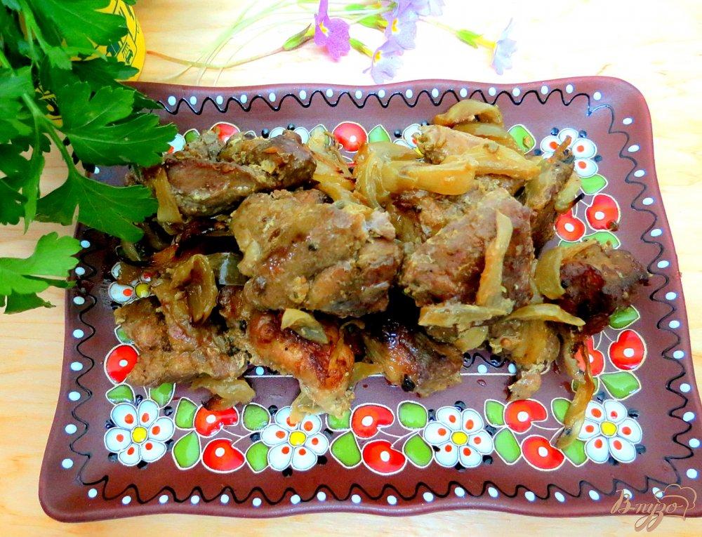рецепты из мяса в духовке из свинины с