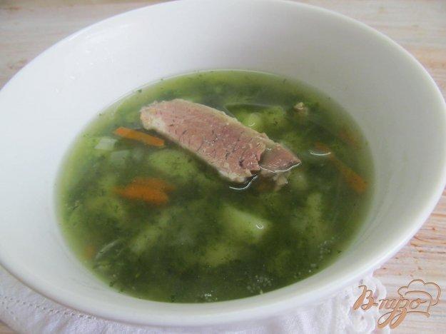 фото рецепта: Суп с крапивой
