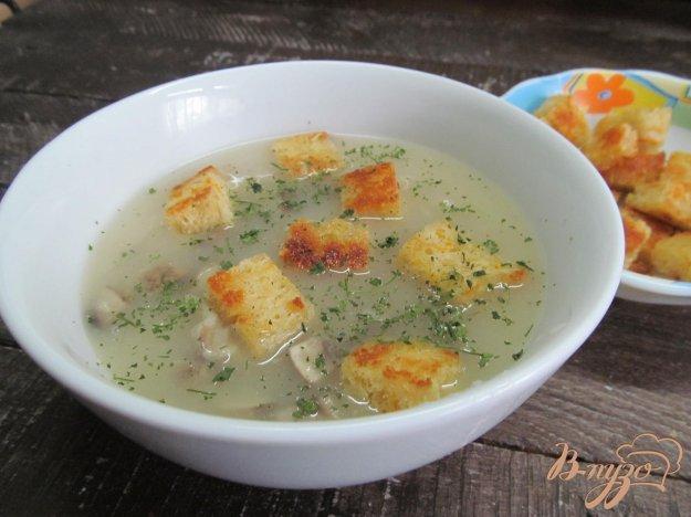 фото рецепта: Французский суп с шампиньонами