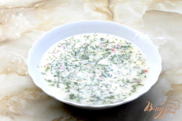фото рецепта: Овощная окрошка на минералке