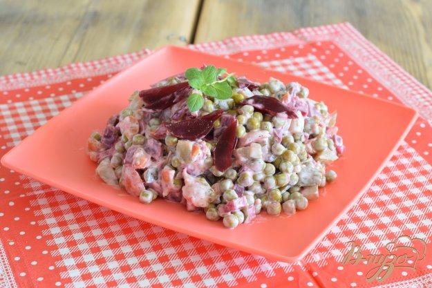 фото рецепта: Острый салат из овощей