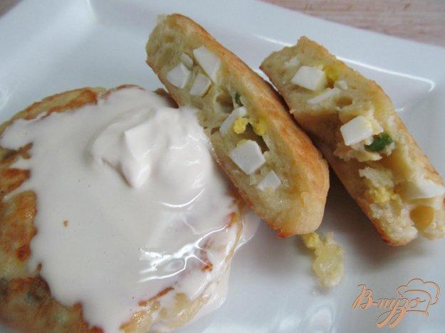 фото рецепта: Картофельные зразы с яйцом