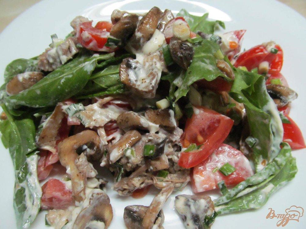 Салаты из мяса пошаговый рецепт с