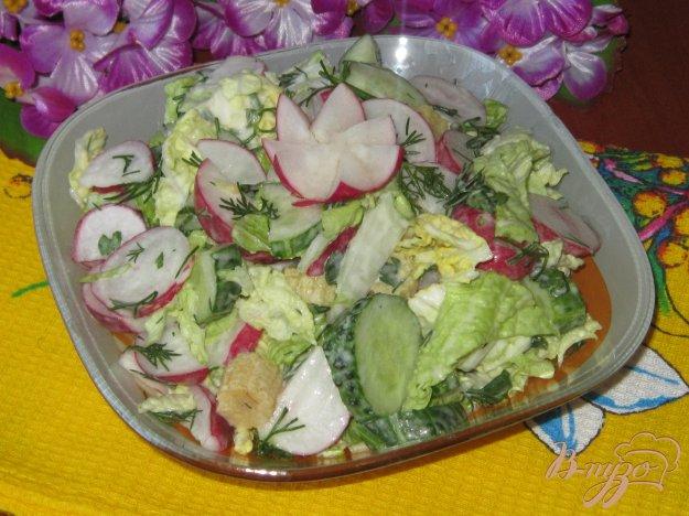 Салат из кукурузы с солеными огурцами рецепт с