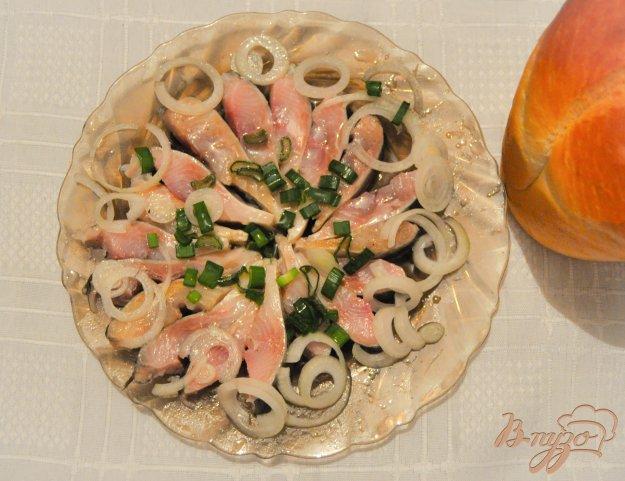 фото рецепта: Соленая сельдь без варки маринада