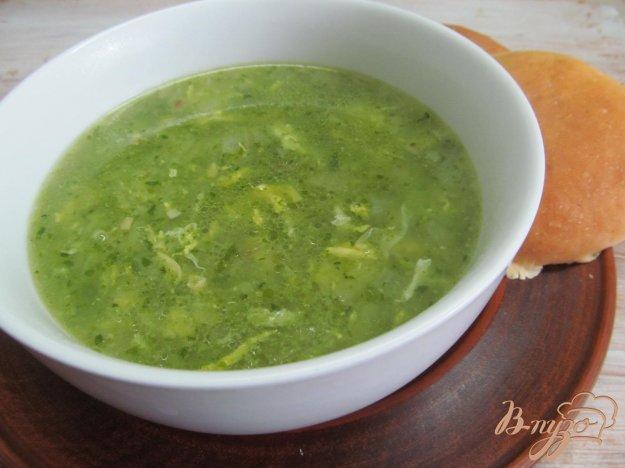 фото рецепта: Суп из шпината с сыром