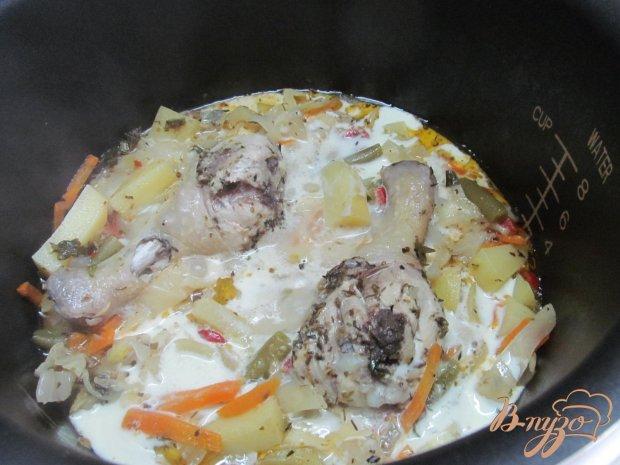 Рагу с куриным филе рецепт