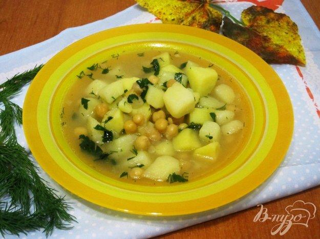 фото рецепта: Суп с нутом и картофелем