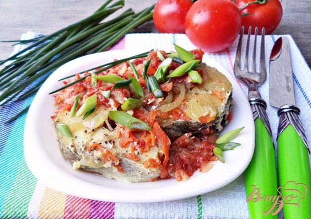 фото рецепта: Минтай с овощами и хреном