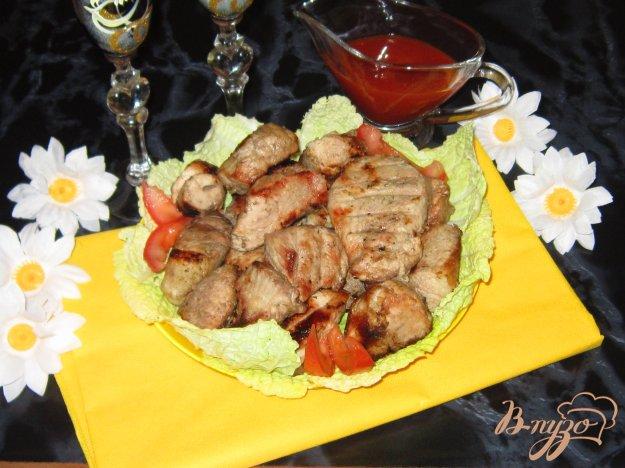 фото рецепта: Шашлык из свинины маринованный в минералке
