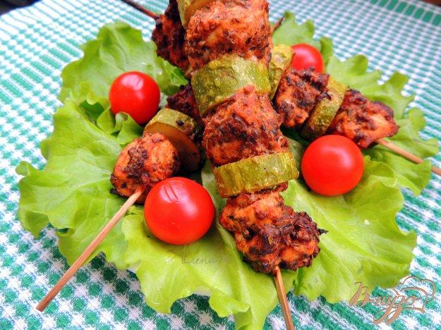 фото рецепта: Куриный шашлык в ароматных травах.