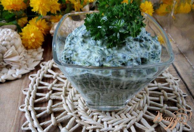 фото рецепта: Соус со шпинатом