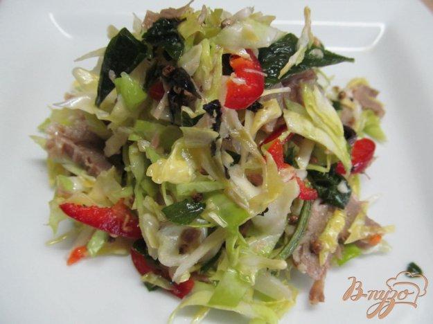 фото рецепта: Салат из овощей с говядиной