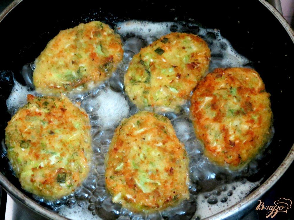 Котлеты из кабачков пошаговый рецепт с фото