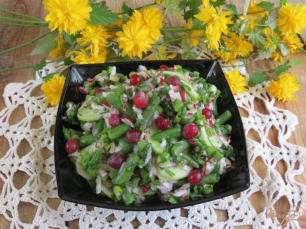 Салат с фасолью пошаговый рецепт с