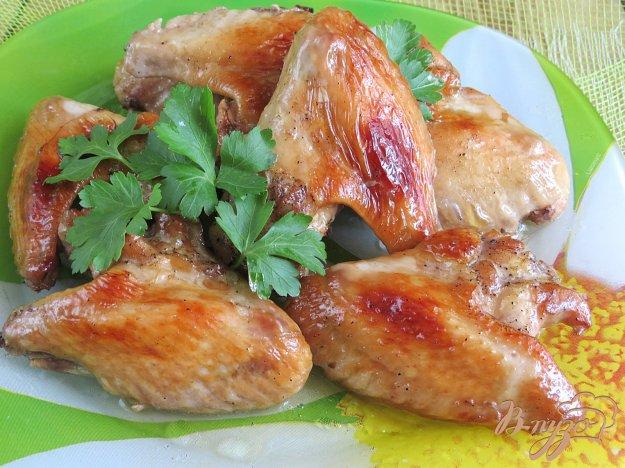фото рецепта: Куриные крылышки *лакированные*.
