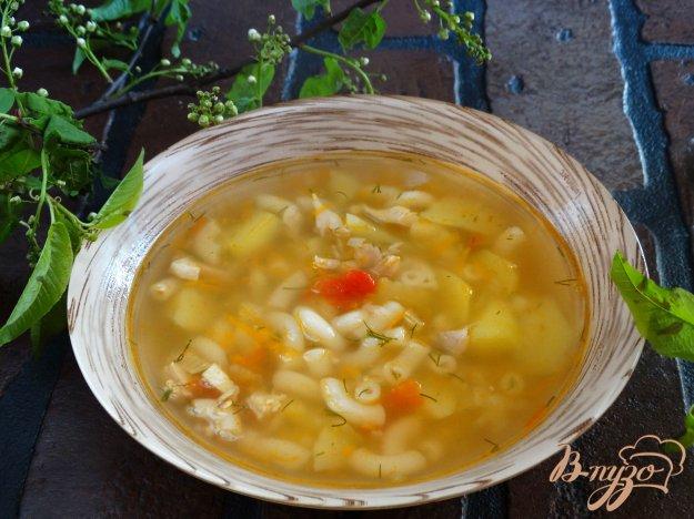 фото рецепта: Суп с томатной заправкой