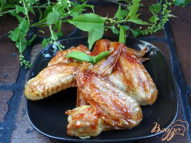 фото рецепта: Крылышки маринованные в пиве