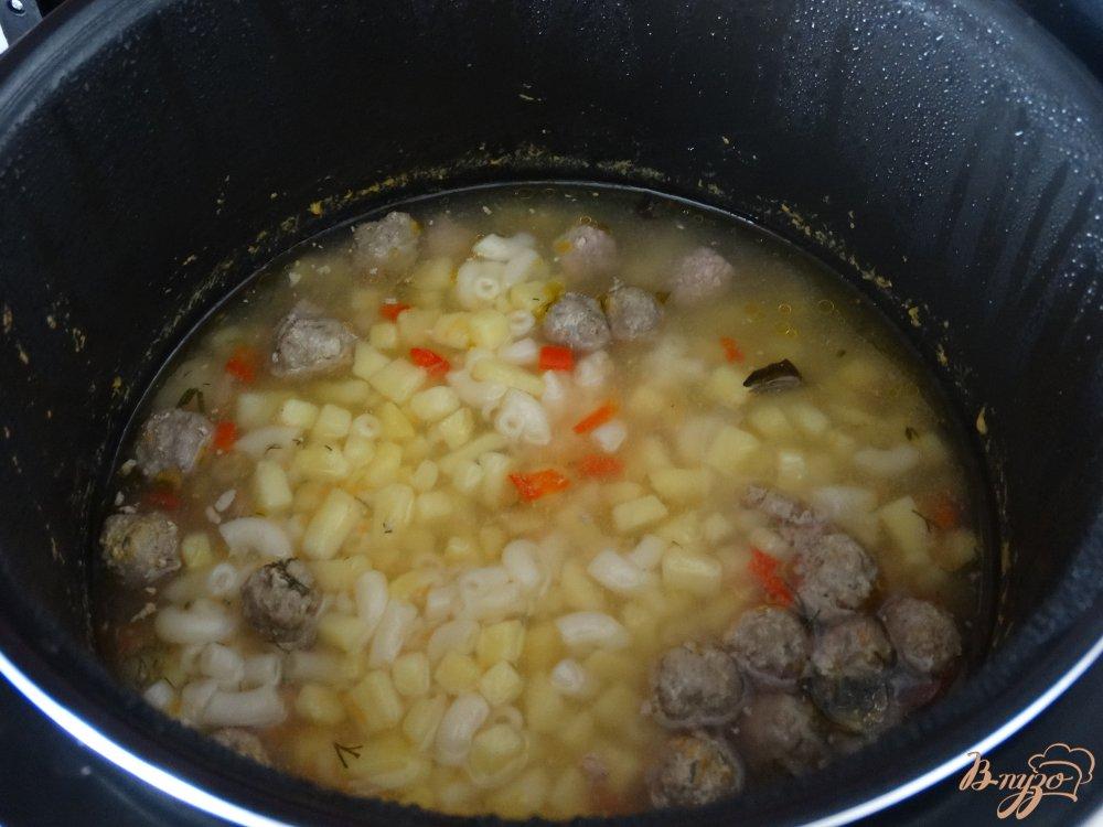 Суп с фаршем в мультиварке рецепты с фото пошагово