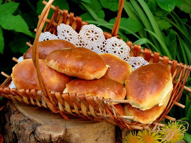 фото рецепта: Пирожки с зелёным луком