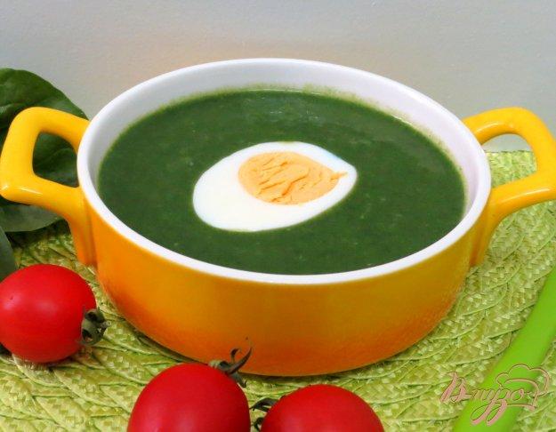 фото рецепта: Суп пюре со шпинатом