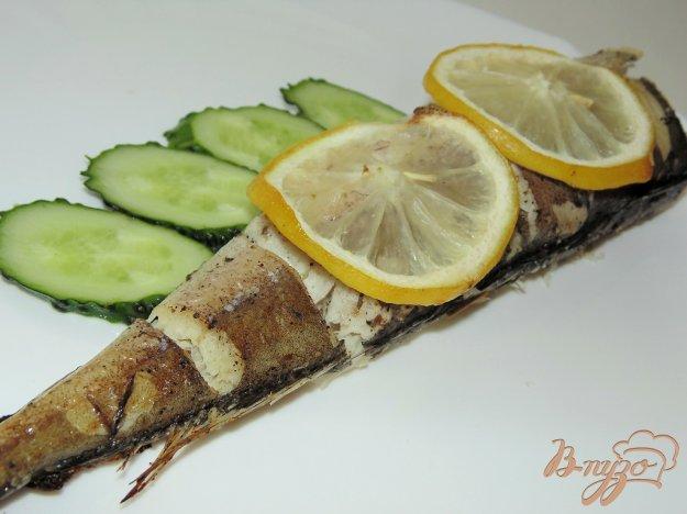 фото рецепта: Хек с лимоном и прованскими травами в фольге