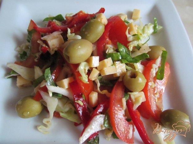 фото рецепта: Салат овощной с сыром