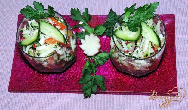 летние овощные салаты рецепты с фото